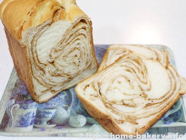 メープルシートで折込みパン(3)シートを2倍の1.5斤三つ編み、ボローニャ風の渦巻き完成♪